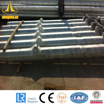 10M hot dipped galvanized steel lighting pole
